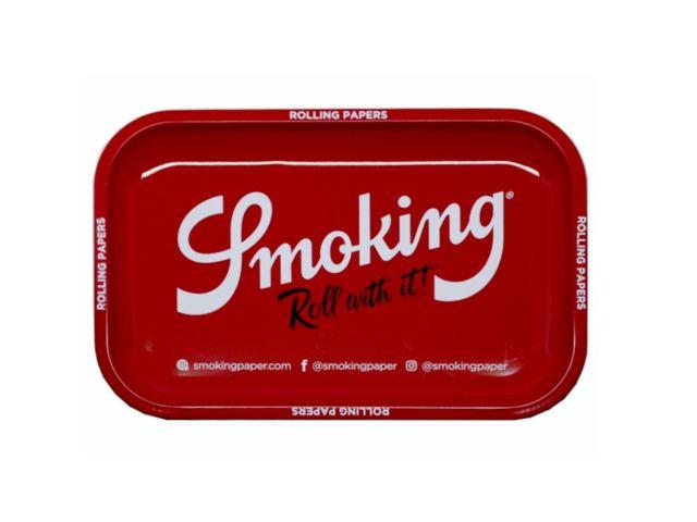 11423 - Δίσκος στριφτού SMOKING RED ROLLING TRAY SMALL