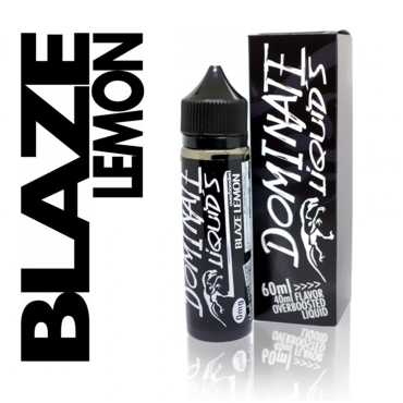 5052 - DOMINATE BLAZE LEMON BOOST ( GERMANY ) 40/60ml (γλυκό λεμόνι)