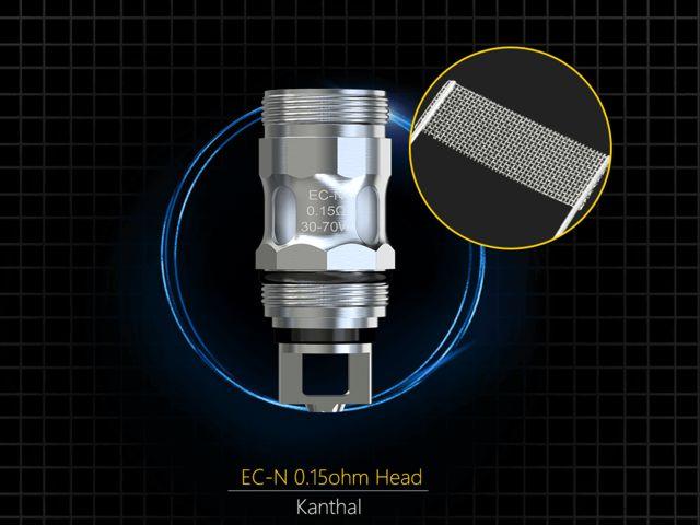 10238 - Eleaf EC-N COILS 0.15ohm για MELO 4 & MELO 5 (5 αντιστάσεις)