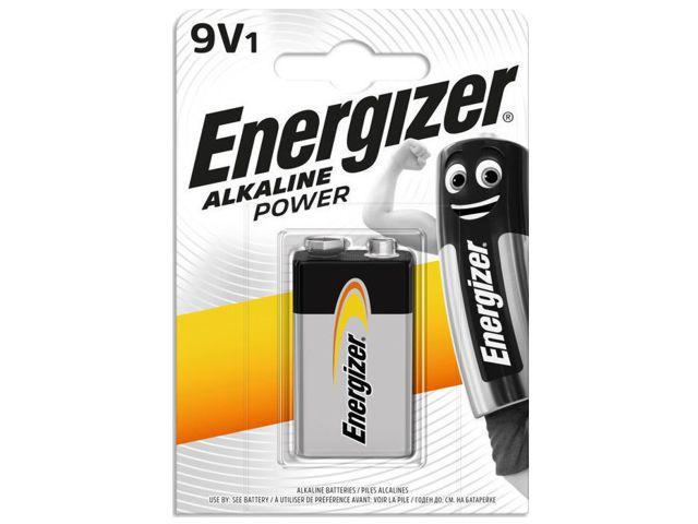 11683 - ENERGIZER ALKALINE POWER 9V ΑΛΚΑΛΙΚΗ (1 ΜΠΑΤΑΡΙΑ)