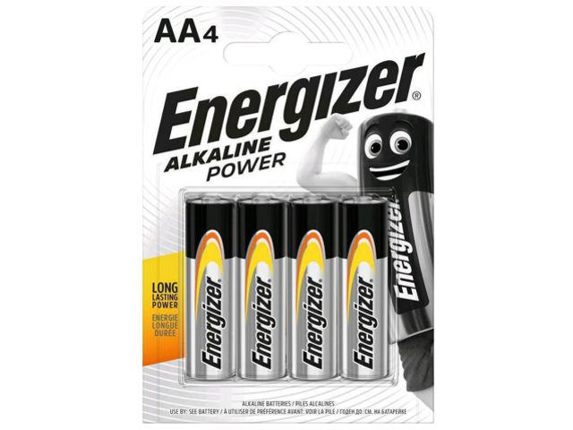 11680 - ENERGIZER ALKALINE POWER AA ΑΛΚΑΛΙΚΕΣ (4 ΜΠΑΤΑΡΙΕΣ)