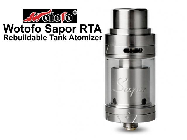 4389 - Επισκευάσιμος Wotofo Sapor RTA Rebuildable Tank Atomizer 2ml