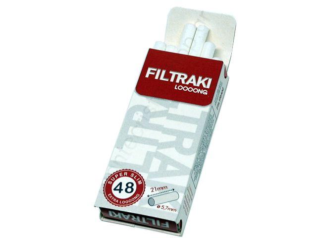 10856 - FILTRAKI LONG 48 SUPER SLIM 5.7mm μακρύ φίλτρο σε μπάρες