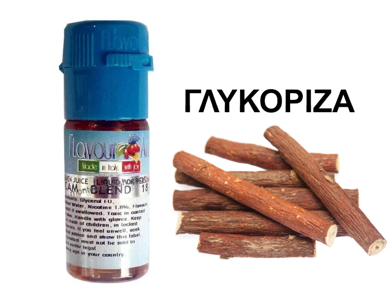 FlavourArt Black Touch ΓΛΥΚΟΡΙΖΑ 10 ml