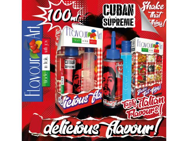 8145 - FLAVOURART MIX AND SHAKE CUBAN SUPREME 100ML (καπνικό)