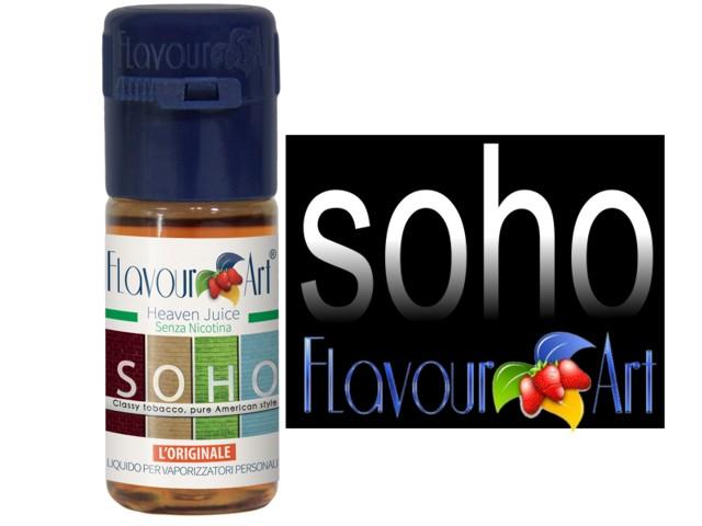2356 - FlavourArt SOHO 10 ml (καπνικό)