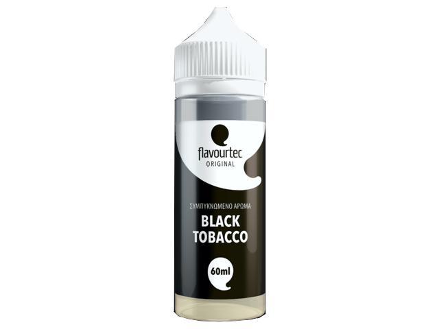 11384 - FLAVOURTEC MIX AND VAPE BLACK TOBACCO 60/120ml (καπνικό)