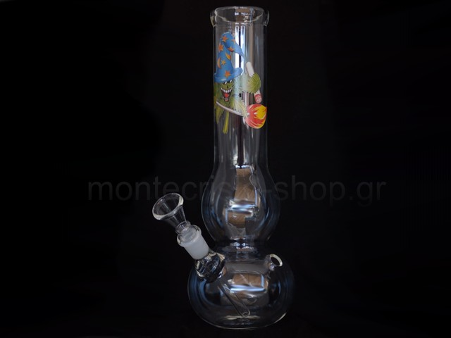Γυάλινο Μπονγκ CANNAHEROES CANNAPOTER GLASS BONG 27cm 01397