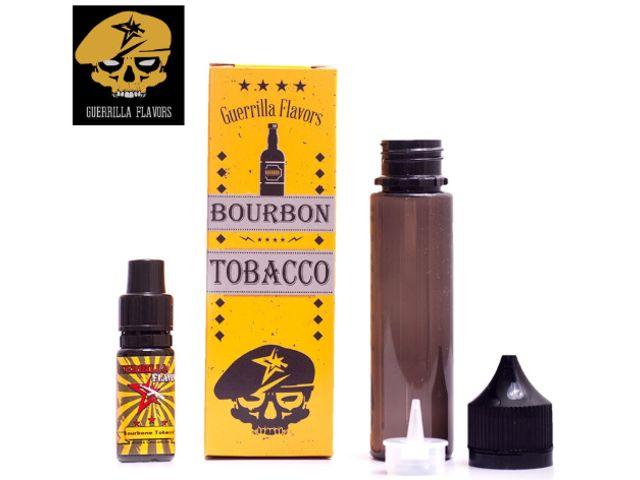 9434 - Guerrilla Shake And Vape BOURBON TOBACCO 10ml (καπνικό με βανίλια μπέρμπον, αμύγδαλο και καρύδα)