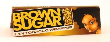 Χαρτάκια πουρόφυλλα Brown Sugar