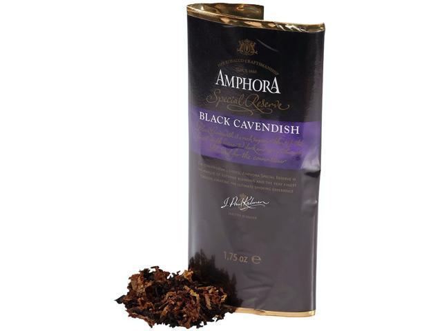 11618 - Καπνός Πίπας AMPHORA BLACK CAVENDISH 40g