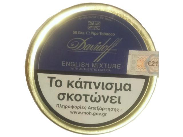 10982 - Καπνός πίπας Davidoff English Mixture 50g