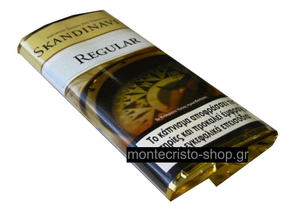 Καπνός πίπας SKANDINAVIK REGULAR 40g