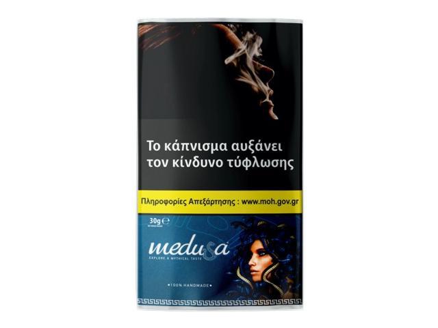 Καπνός στριφτού MEDUSA ΜΠΛΕ 30gr