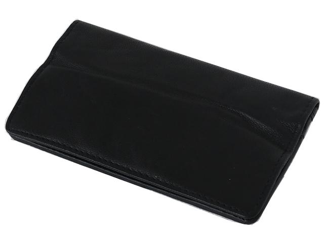 5590 - Καπνοσακούλα Rolling 44402-000 από γνήσιο δέρμα (με τρία φερμουάρ για σακουλάκι ή χύμα καπνό) δερμάτινη