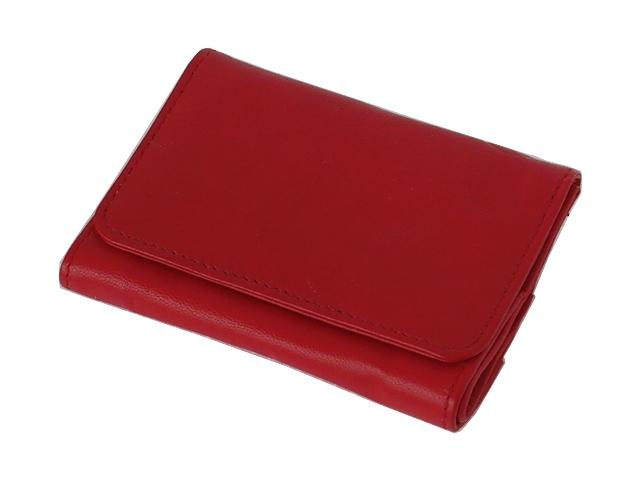 5577 - Καπνοσακούλα του παππού Rolling 44423-165 από γνήσιο δέρμα (κόκκινη μικρή) δερμάτινη