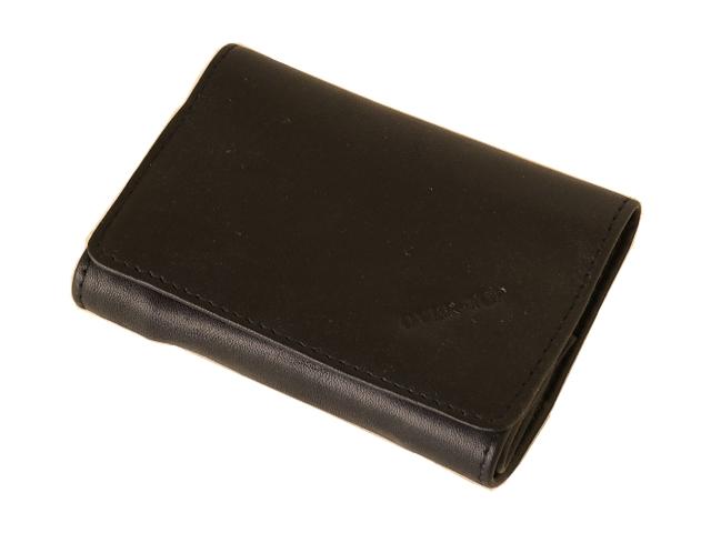 5401 - Καπνοθήκη από γνήσιο δέρμα Over Top 10025 Z BROWN (μικρή με διπλό άνοιγμα) δερμάτινη