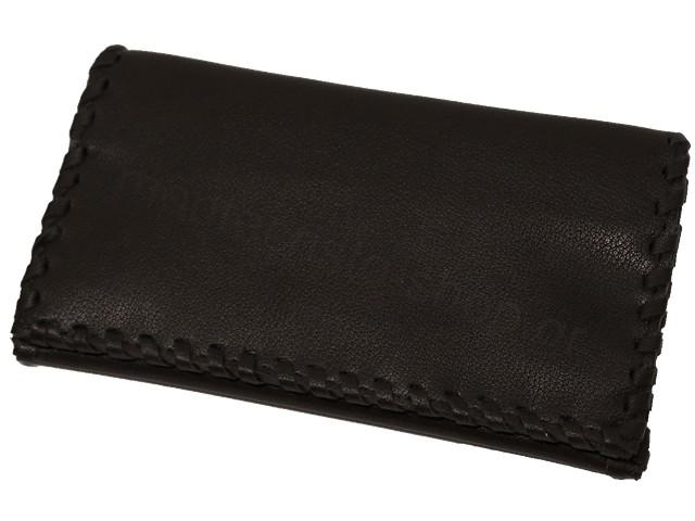 Καπνοθήκη του παππού Rolling 44439-000 (μαύρη μεγάλη για χύμα καπνό ή σακουλάκι καπνού)