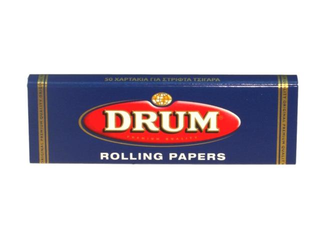 648 - Χαρτάκι καπνού Drum, 50 φύλλα από την Rizla