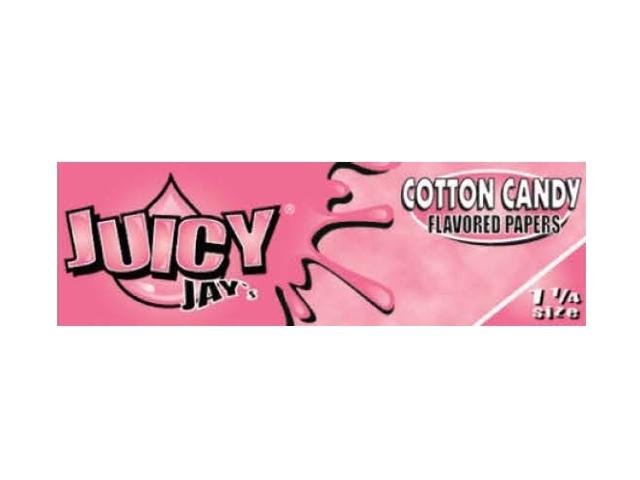 10017 - Χαρτάκια αρωματικά Juicy Jays COTTON CANDY ΜΑΛΙ ΤΗΣ ΓΡΙΑΣ 1 1/4