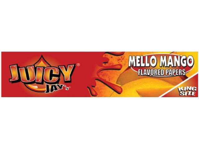 10056 - Χαρτάκια αρωματικά Juicy Jays MELO MANGO KING SIZE