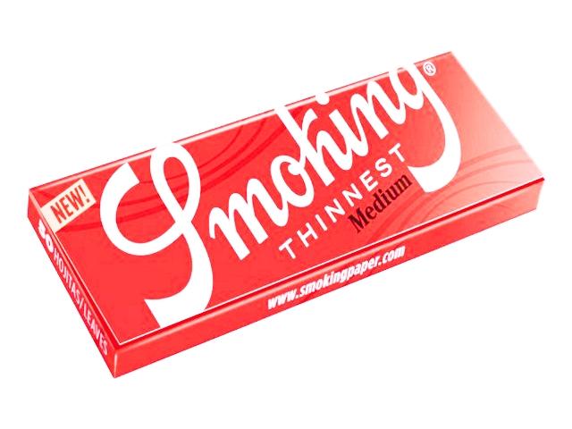 5242 - Χαρτάκια Smoking 1 και 1/4 Medium Thinnest 50 (10γρ/μ2)