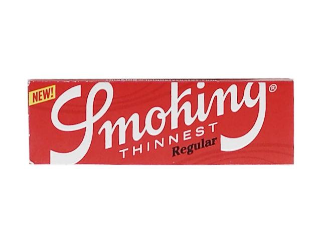 9872 - Χαρτάκια Smoking Thinnest Regular 60 (10γρ/μ2)