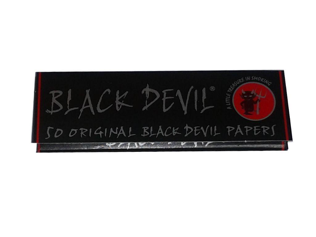 1740 - Χαρτάκια Στριφτού Black Devil original