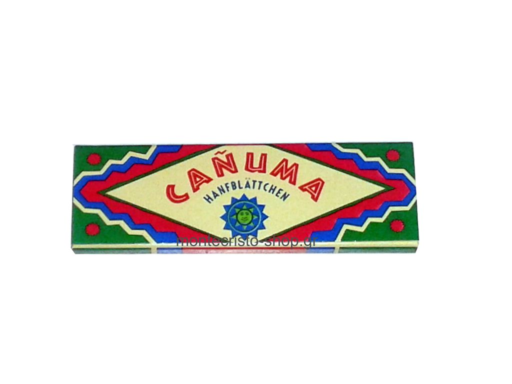 1698 - Χαρτάκια στριφτού Canuma από Κάνναβη με 60 φύλλα