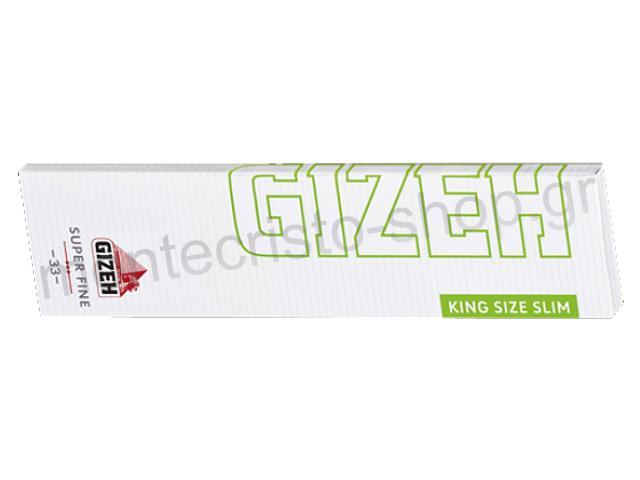 Χαρτάκια στριφτού Gizeh King Size SLIM SUPER FINE MAGNET GIP051