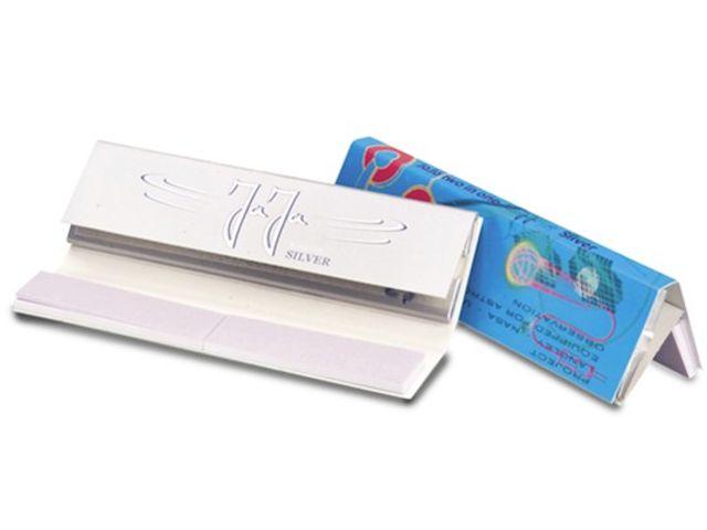 3691 - Χαρτάκια στριφτού JaJa Two in One SILVER King Size με τζιβάνες