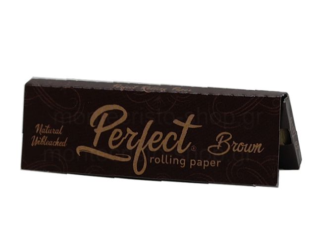 10812 - Χαρτάκια στριφτού Perfect Brown Natural Unbleaced Ακατέργαστο