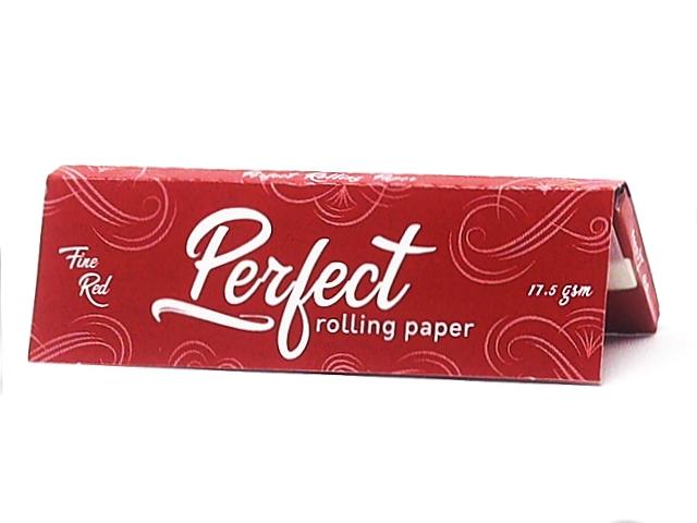 9707 - Χαρτάκια στριφτού Perfect Fine Red Κόκκινα Κανονικό πάχος