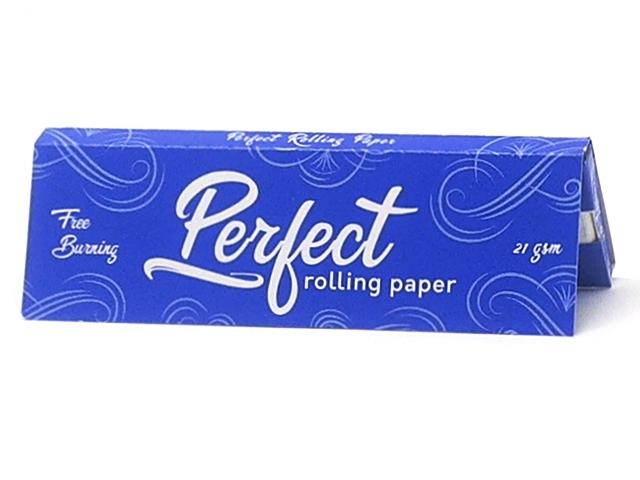 9709 - Χαρτάκια στριφτού Perfect Free Burning Μπλε Έντονη καύση