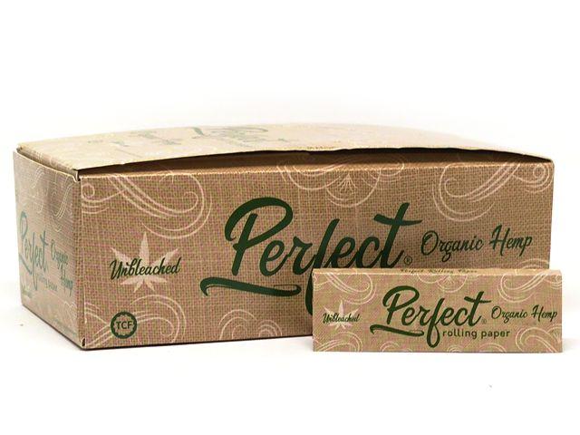 10234 - Χαρτάκια στριφτού Perfect Organic Hemp (κουτί των 50)