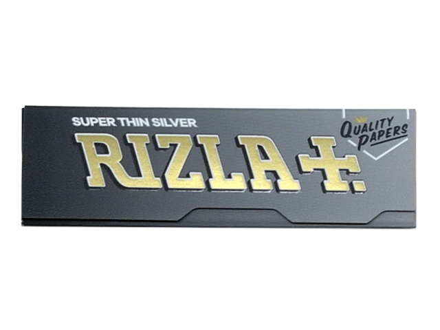 10065 - Χαρτάκια στριφτού Rizla Silver Ασημί Super Thin 50