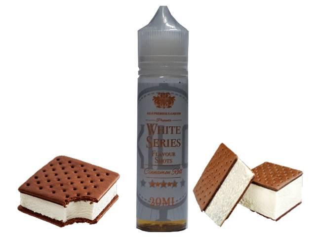 9460 - KILO WHITE SERIES Flavor Shot ICE CREAM SANDWICH 20ml/60ml (μπισκότο με παγωτό βανίλια)