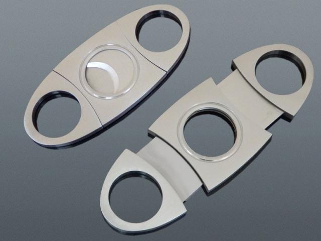 11370 - Κόφτης για πούρα διπλός double cutter μεταλλικός MADO 661-8012