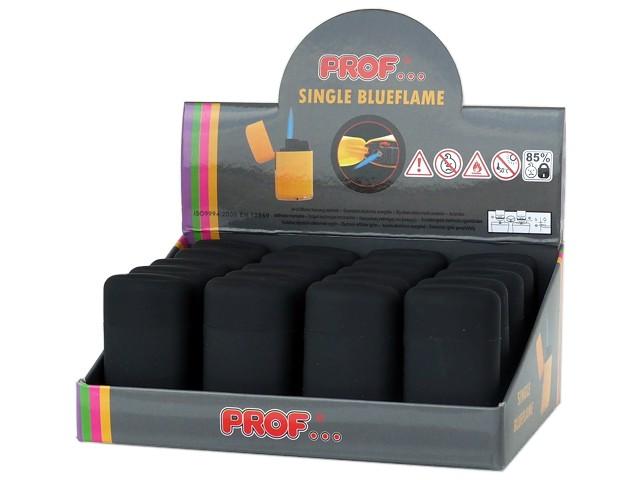Κουτί με 20 αντιανεμικούς αναπτήρες PROF SINGLE BLUEFLAME JET 40822044