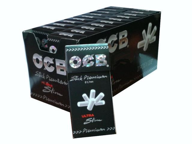 1325 - Κουτί με 20 φιλτράκια OCB Ultra Slim Premioum 120