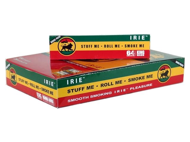 4207 - Κουτί με 24 χαρτάκια στριφτού IRIE King Size Hemp με 64 φύλλα
