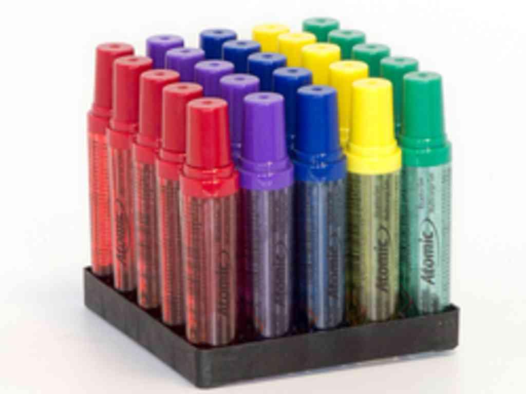 Κουτί με 25 αέρια αναπτήρων atomic μικρό 18ml για όλους τους αναπτήρες με τιμή 0,35 το αέριο