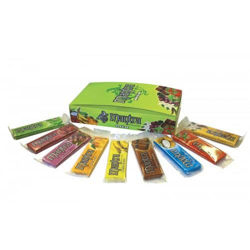 715 - Κουτί με 25 διάφορα αρωματικά χαρτάκια 1 και 1/4 Mantra Mix 9 γεύσεις made in Spain