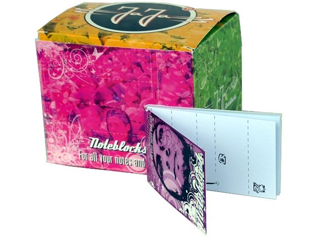 4556 - Κουτί με 40 τζιβάνες JAJA Noteblock 105 tips