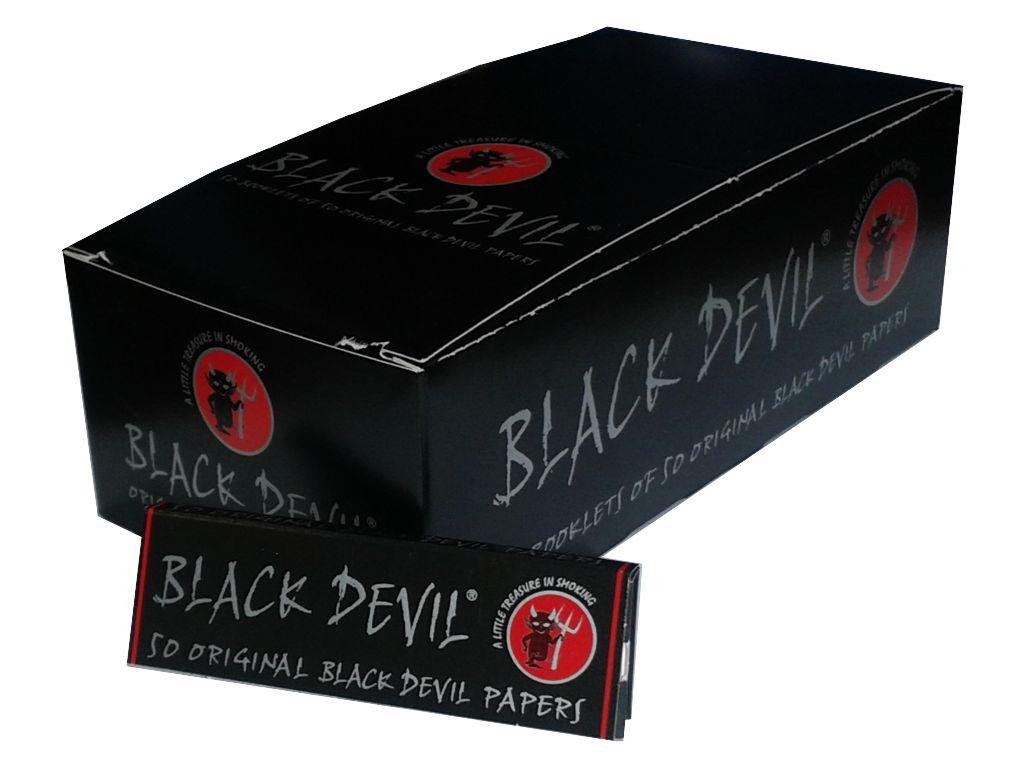 1741 - Κουτί με 50 χαρτάκια Black Devil original