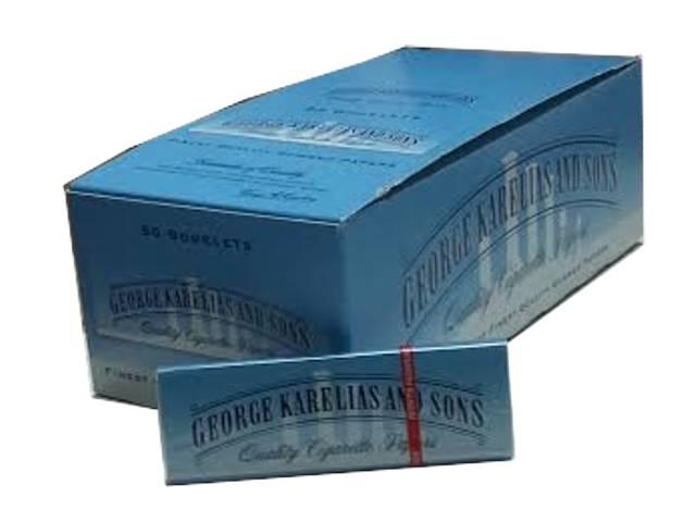 3174 - Κουτί με 50 χαρτάκια στριφτού KARELIAS CIEL