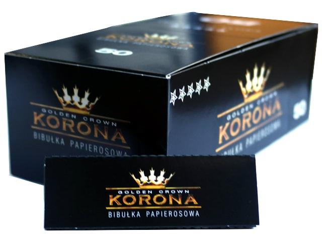Κουτί με 50 χαρτάκια στριφτού KORONA