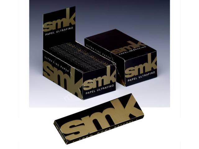2899 - Κουτί με 50 χαρτάκια στριφτού SMK μεσαία 78mm (πολύ λεπτά)
