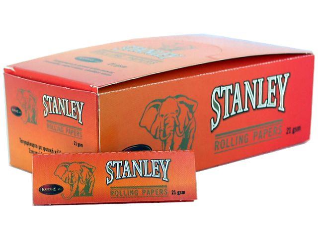 3724 - Κουτί με 50 Χαρτάκια στριφτού STANLEY ΠΟΡΤΟΚΑΛΙ 21GSM
