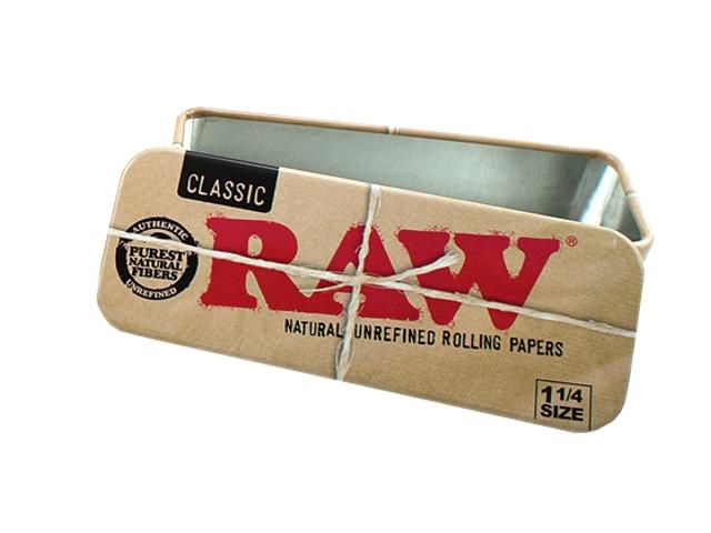 3181 - Κουτί Raw Roll Candy 1&1/4 μεταλλική θήκη για καπνό ή χαρτάκια